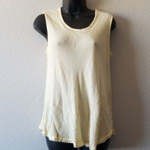 India Boutique Embroidered Tank Top